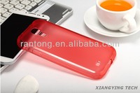 2014 wholesale transparent TPU cover for samsung galaxy s4 case