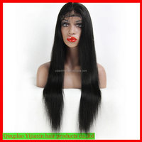 Hot selling 100%human hair wig top quality wholesale cheap halloween lace front wig with baby hair