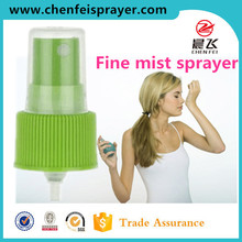 Custom plastic cap 24 410 head screw fine mist sprayer pump china