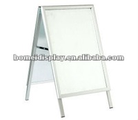 2013 Aluminum a board advertising equipment pavement signs and poster frame