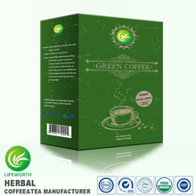 Lifeworth wholesale new formula mocha powder natural herbs green coffee for body health