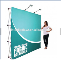 Portable Floor Standing Fabric Popup With