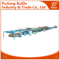 WJ series of high speed 7 ply corrugated cardboard production line