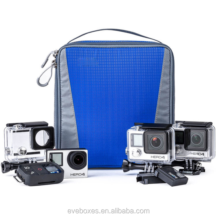 Wholesale Fashion Shockproof Waterproof Nylon Soft Case for Go Pro HERO Cameras