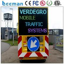 solar vms led trailer led moved truck led video wall panel P6 cheap