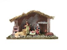 2012 nativity set new christmas decoration resin figures
