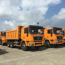 SHACMAN New Sand Tipper Truck 8x4 With Large Power For Sale