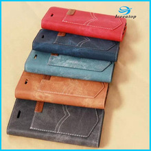 2017 Cowboy Jeans Holster leather PU Case for iPhone 6 Case Stand, Stand Flip Leather Case for iPhone7 Cover With Card Slots