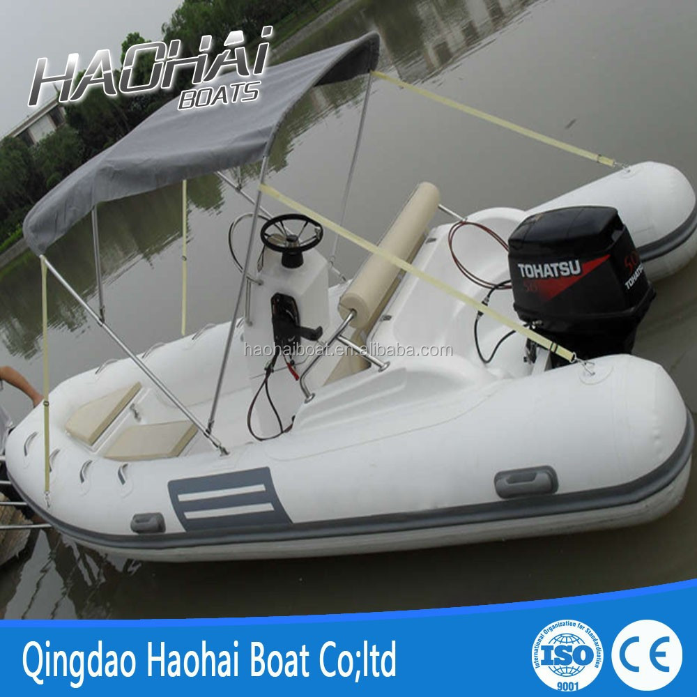 CE certificate 15ft 4.7m cheap fiberglass hull inflatable rib boats for sale