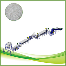 abs pc plastic scrap recycling line