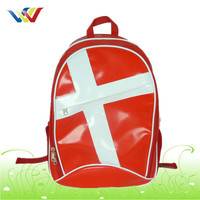 Newest design school tarpaulin backpack