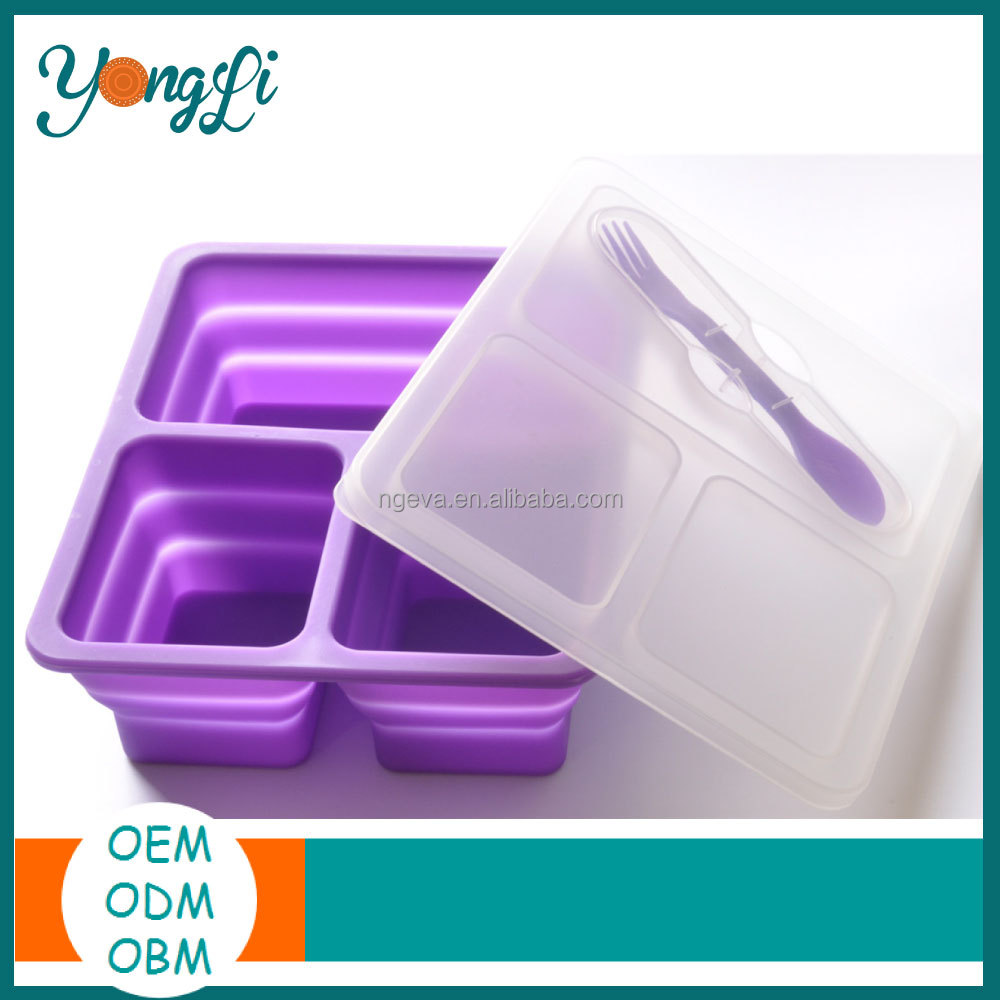 Unique Silicone Dog Food Containers Decorative