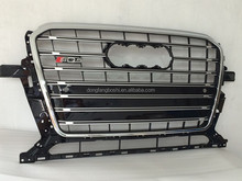 Custom car front grille cover for audi q5 front grille