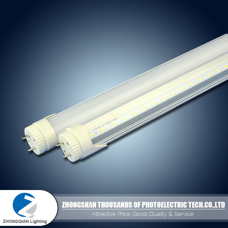 Functional T8 9W 60cm AC 100 - 265v neutral white rotatable t8 led tube 1.2m 18w