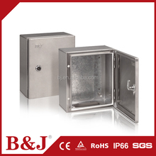 B&J IP66 Waterproof Stainless Steel Enclosure Outdoor Electrical Junction Box