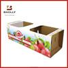 Colorful rectangle carton boxes for strawberry manufacturer