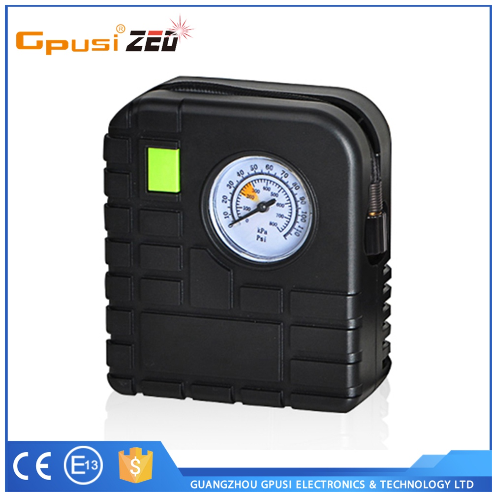 Gpusi Quality Assured Intelligent Big Price Drop Mini Car Tire Air Compressor 12v Inflator