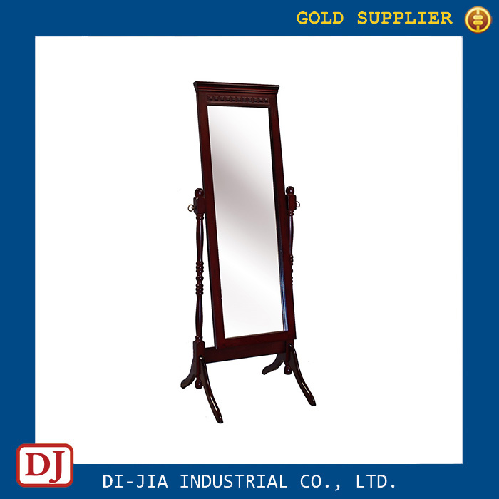 Antique Style Wooden Full Length Dressing Mirror Stand