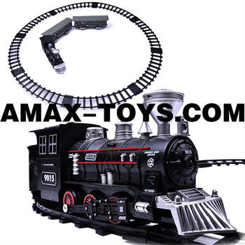 RCT-02519035B electric track train Electric powered track train with sound and lights (can smoke)