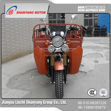 construction cabin chinese motorcycle/motorized tricycles/cabin tricycle for passenger