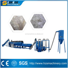 Plastic factory Recycling machine line pp pe film washing line