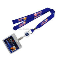 Dye Sublimation Lanyards have a photo-quality. digital print process