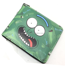 Hot Sale Rick And Morty Anime Funny Purse Cartoon PU Leather Wallet