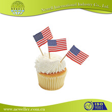 Chinese denmark toothpick flag factory offer