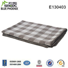 BLUE PHOENIX super soft and fluffy fashion plaid pure cashmere tv blanket