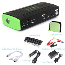 12000mAh 12V Rechargeable Portable Car Jump Starter Power Bank Battery Charger