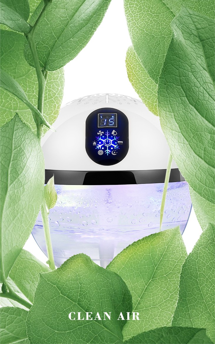 hot selling uv ionizer led rainbow light scent aroma diffuser air freshener used in spa office hotel with high effeciency