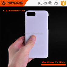 3D Sublimation Blank Heat Press Printing Mobile Cover For iPhone 7 7S 8 Case