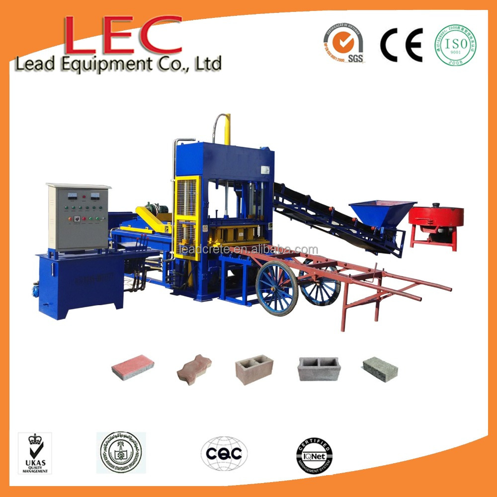 Economic concrete paver block making machine LQT4-15