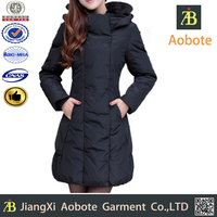2015 Hot Selling Lady Long Winter Dress,Durable Outdoor Winter Coat