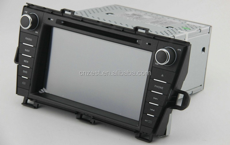double din car stereo for Toyota Prius car stereo with gps radio TV 3G BT car dvd multimedia system