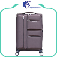 Large trolley travel luggage 28 inch suitcase with compartments