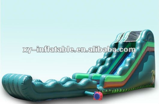 best backyard inflatable water slides inflatable slip and slide with pool for adults