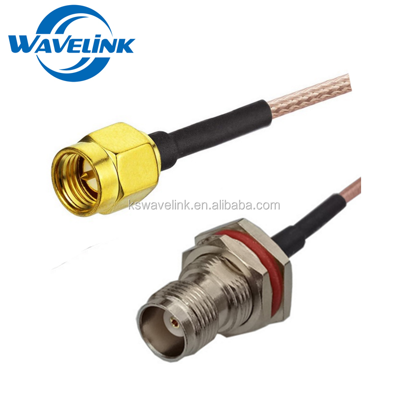 Factory Price TNC To SMA FME N TS9 MMCX Connector Jumper Pigtail Cable 2M RG178 RG316 RG58 Cable