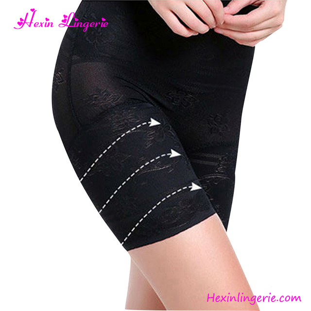 Black Butt Lifter Women Shapewear Slimming Pants High Waist Body Shaper Panties
