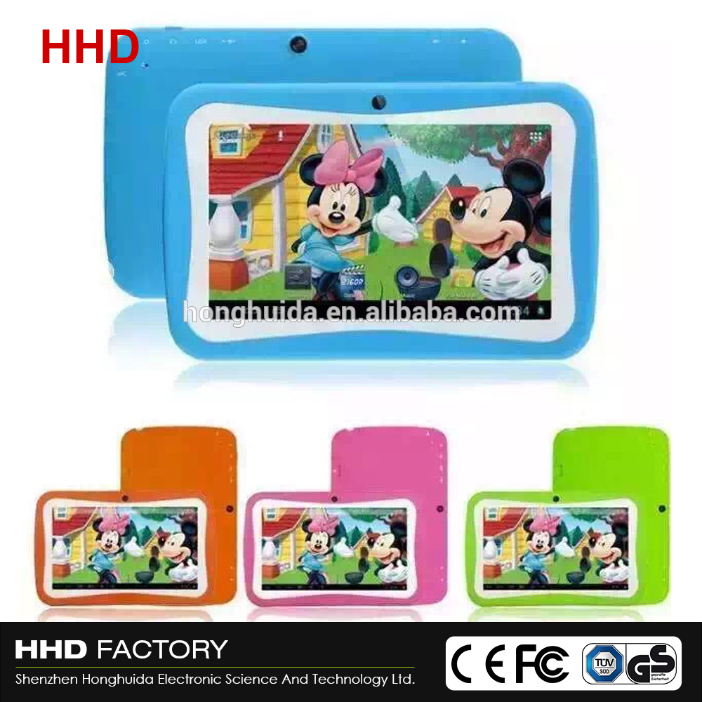 7 inch best low price Android Children cheap rugged tablet pc made in China