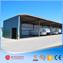 Light Steel Parking Structure Construction, Fast Prefabricated Building with Professional Design