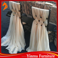 China manufacturer chair sashes wedding chair covers and sashes for sale