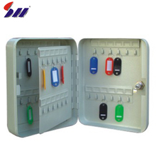 Customized mini wall mounted metal steel key lock safety box
