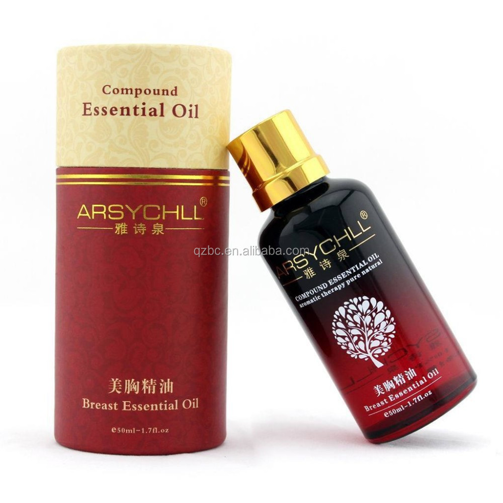 aromatherapy pure and nature enhance breast cell renewal body massage oil