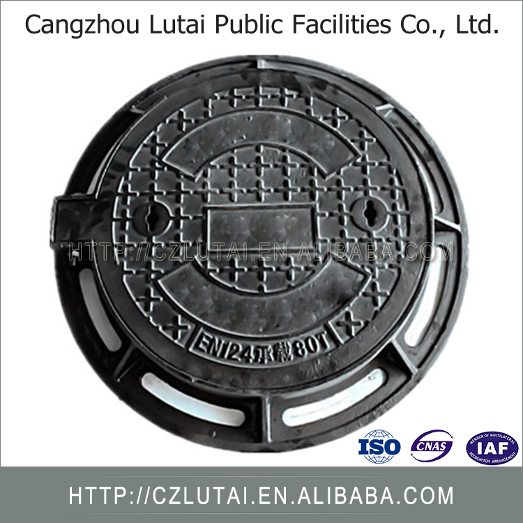 Factory Directly Wholesale Cast Iron Manhole Cover With Frame