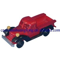 handmade colored wooden toy cars for gifts