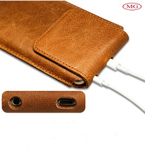 Luxury full grain vegetable tanned leather mobile cover handmade for apple iphone case 5/5s/6/6+/6s oem with debossed logo