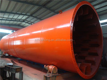 Mechanical design stainless steel rotary drum dryer supplier