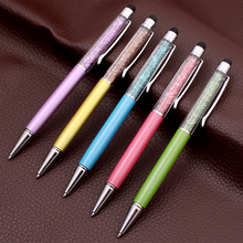 Taizhan wholesale Multi color luxury crystal ball pen and stylus ball pen