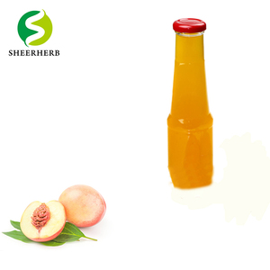 Peach Concentrated Syrup Peach Puree Concentrate Natural Peach Juice Concentrated